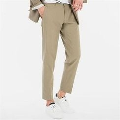 STYLEMAN - Band-Waist Dress Pants