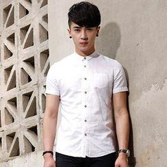 WOOG - Short-Sleeve Linen Shirt