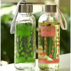 Tivi Boutique - Printed Glass Water Bottle