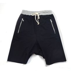 Rampo - Color Panel Drawstring Shorts
