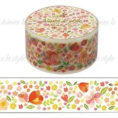 Aimez le style - Aimez le style Masking Tape Primaute Middle Casual Flower