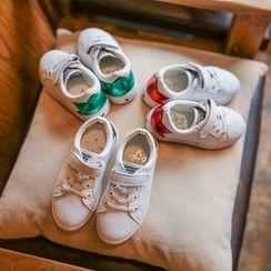 Hambu - Kids Lace-Up Velcro Sneakers