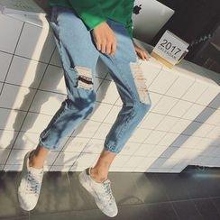 子俊 - 做旧牛仔裤