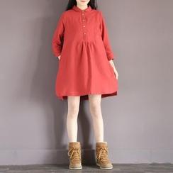 Clover Dream - Long-Sleeve Shirtdress