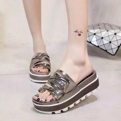 BAYO - Platform Slide Sandals