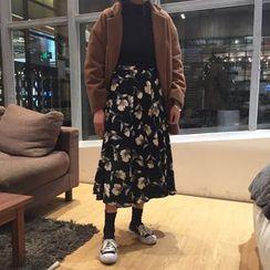 ALIN STYLE - 碎花中長裙