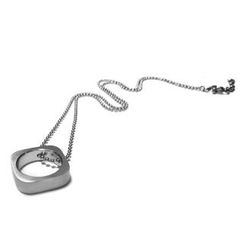 Kamsmak - Circle Meets Square Necklace