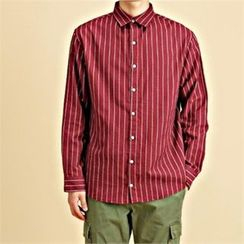 THE COVER - Long-Sleeve Striped Shirt
