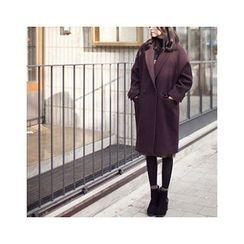 MASoeur - Double-Breasted Wool Blend Coat