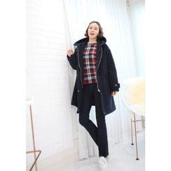 Lemite - Hooded Zip Coat