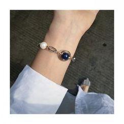 Calypso - Pearl Segment Bracelet