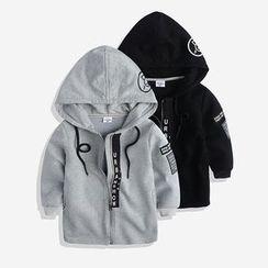 Happy Go Lucky - Kids Hooded Zip Jacket