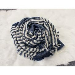 DANI LOVE - Striped Scarf