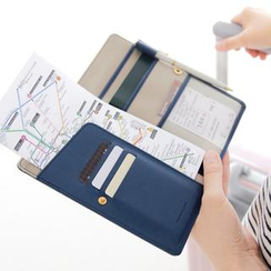 iswas - Anti Skimming Passport Wallet