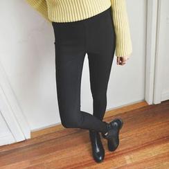 JUSTONE - Band-Waist Leggings Pants