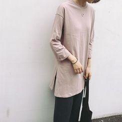 Whitney's Shop - 七分袖T恤裙