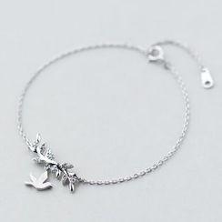 A'ROCH - 925 Sterling Silver Bird Bracelet