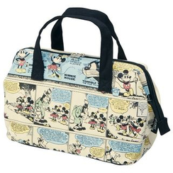 Skater - Mickey Mouse Canvas Lunch Bag