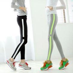 Zosia - Striped Leggings