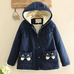 Angel Love - Fleece Lined Hooded Jacket