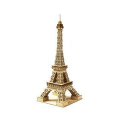 Team Green - Plywood Puzzle  - Eiffel Tower (L)