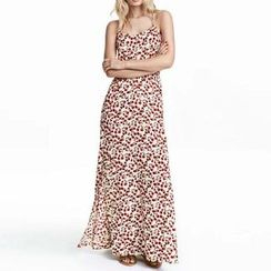 Chicsense - Floral Maxi Sundress
