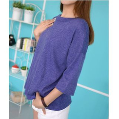 MATO - 3/4-Sleeve Drop-Shoulder T-Shirt