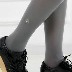 MITU - Embroidered Tights