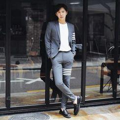 MRCYC - Striped Slim-Fit Pants