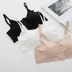 Meimei - Cutout Seamless Bra Top