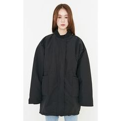 Someday, if - Zip-Up Thick Padded Parka