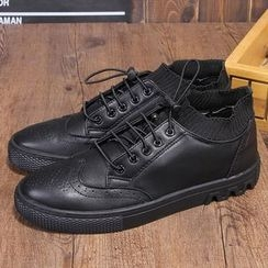Armsal - Lace-Up Brogue Oxfords
