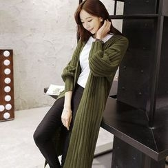 Eferu - Open Front Long Cardigan
