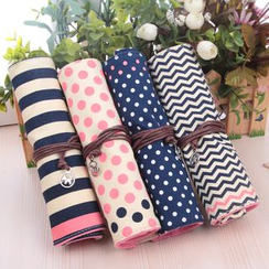School Time - Patterned Pencil Case