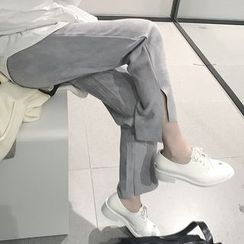 Cloud Nine - Slit Straight Fit Pants