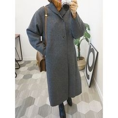 STYLEBYYAM - Wool-Blend Long Coat