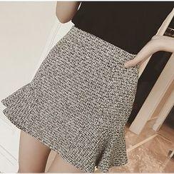 Everose - Tweed Miniskirt