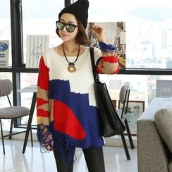 DANI LOVE - Color-Block Sweater