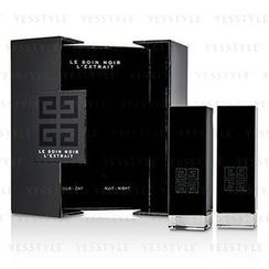 Givenchy - Le Soin Noir LExtrait: LExtrait Day Serum 15ml/0.5oz + LExtrait Night Serum 15ml/0.5oz
