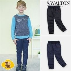 WALTON kids - Kids Brushed-Fleece Pants