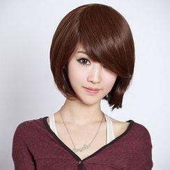 Ontop - 短款假髮 - 直髮