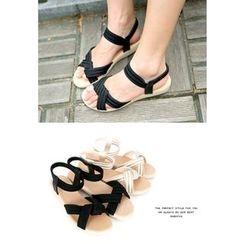 REDOPIN - Cross Strap Sandals