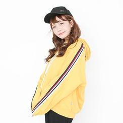 Storyland - Striped Trim Hooded Jacket