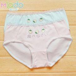 Rikku - Strawberry Print Panties