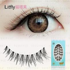 Litfly丽塔芙 - 假睫毛 #301 (10对)