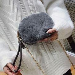 Devant - 毛毛腕帶包連鏈帶