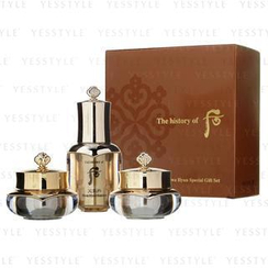 The History of Whoo - Cheongidan Hwa Hyun Special Gift Set: Essence 8ml + Cream 10ml + Eye Cream 5ml