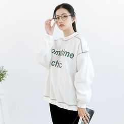 Forest Girl - Lettering Sweatshirt