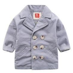 DEARIE - 兒童雙排扣西裝外套