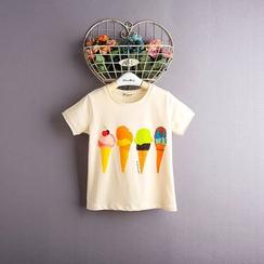 Kidora - 小童印花短袖T恤